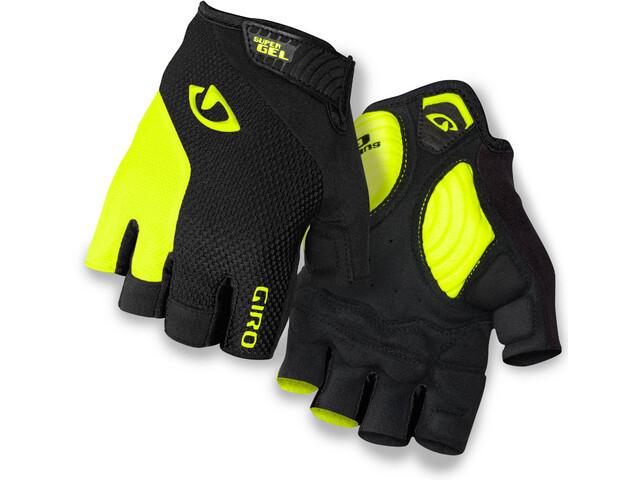 Giro Strade Dure Supergel Gloves Black/Highlight Yellow